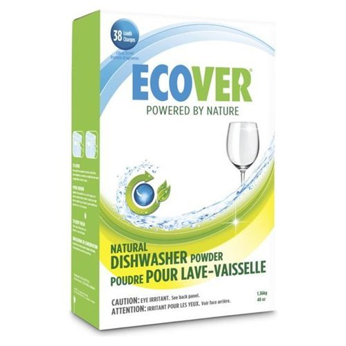 Ecover Ecological Automatic Dishwasher Powder 38 Loads 48 Oz. ( Multipack)
