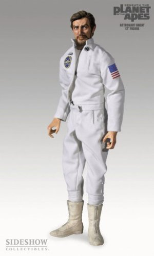 Picture of Sideshow Astronaut Brent Action Figure from Beneath the Planet of the Apes (B000BWA462) (Sideshow Action Figures)
