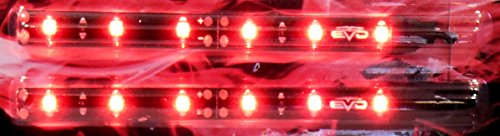 Bande LED rouge ultrabrights 10 cm