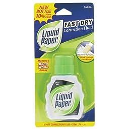 Liquid Paper Fast Dry - 6 Nos Pack of 6