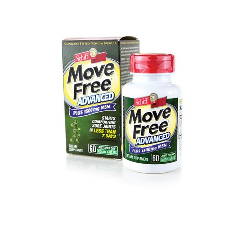 Move Free Plus Msm Advanced, 66 Tablets, From Schiff