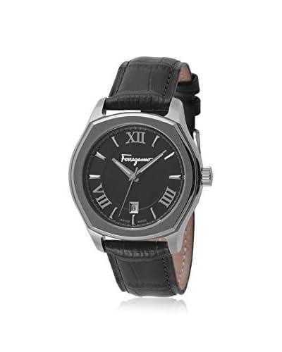 Salvatore Ferragamo Men's FQ1980015 Lungarno Analog Display Quartz Black Watch