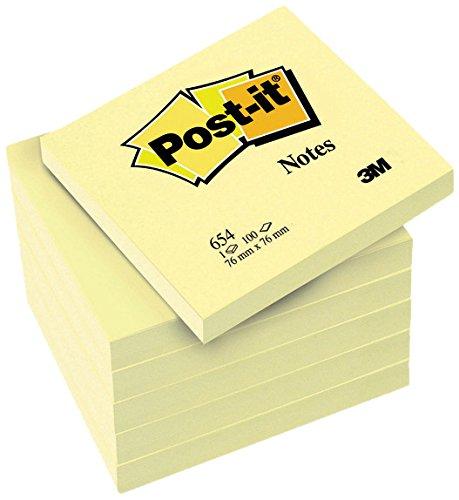 post-it-654y6-haftnotiz-promotion-76-x-76-mm-70-g-qm-100-blatt-6-block-gelb-in-weiteren-grossen-verf