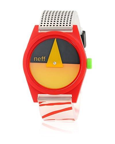 Neff Reloj Analógico Daily Naranja / Rojo 40  mm