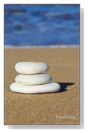 Balance Stones On The Beach Password Log