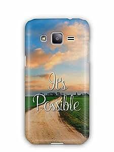 YuBingo It's Possible Designer Mobile Case Back Cover for Samsung Galaxy J2