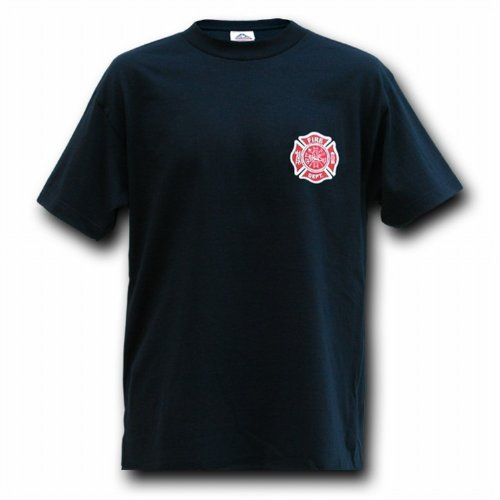 Us Fire Department Law Enforcement T-Shirts, Tees (Navy Blue, Size- Xx-Large)