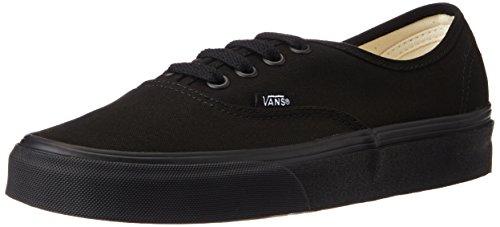 Vans Unisex Authentic Black Sneakers - 10 UK/India (44.5 EU)