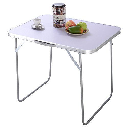Portable Folding Aluminum Table In/Outdoor Picnic Party Dining Camping Desk New (Low Profile Bedside Lamp compare prices)