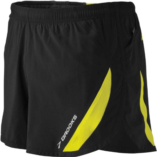 Brooks Men's ID Elite Short, Color: Black, Size: XL