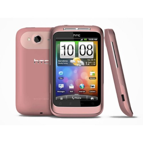 Click to buy HTC A510e Wildfire S Unlocked Phone with Android 2.3.3, 5MP Camera, WiFi, GPS and Bluetooth - No Warranty - Pink - From only $199