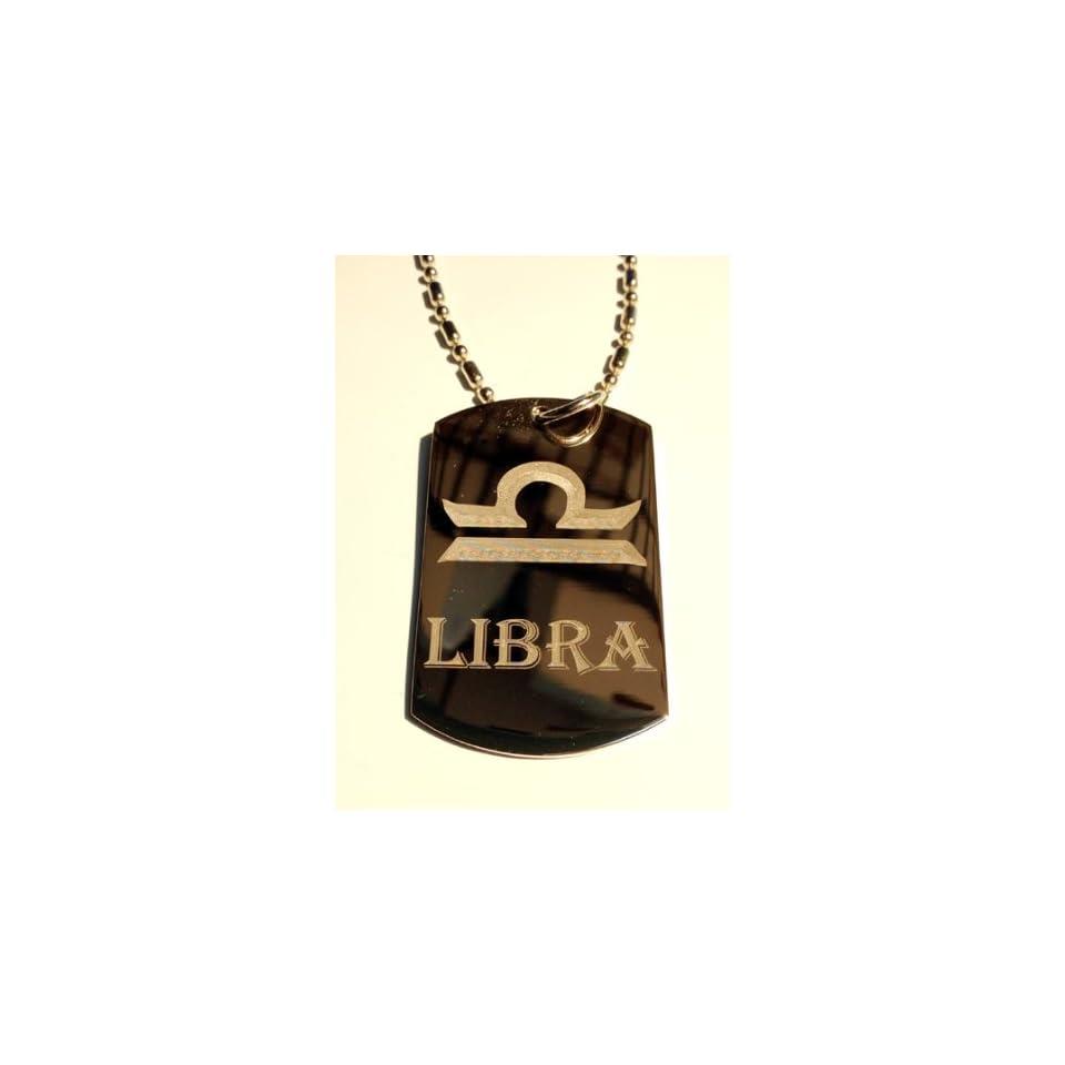 Celtic Zodiac Signs Sign Libra Symbol Military Dog Tag