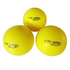 Buy Le Petit Tennis Foam Balls - Yellow Tennis Balls Kids - Pack3 - (Stage 3 Ball - For Playing on 36ft Court) by Le Petit Tennis