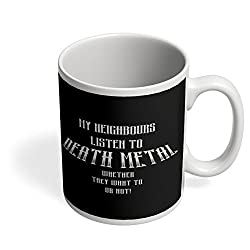 PosterGuy Coffee Mug - Death Metal Funny Sarcasm Metal, Songs, Music, Sarcasm, Funny