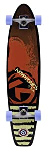 Buy Kryptonics Longboard Tide Complete Skateboard, Red, 36 x 8.625-Inch by Kryptonics