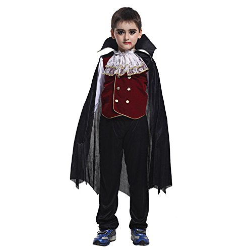 [NonEcho Western Vampire Costume for Boys Halloween Costume Outfits] (Colonial Marine Halloween Costumes)