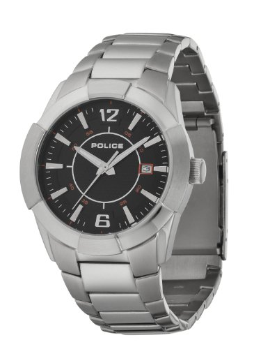 Police Sincere Black Dial Watch 12547JS/02M