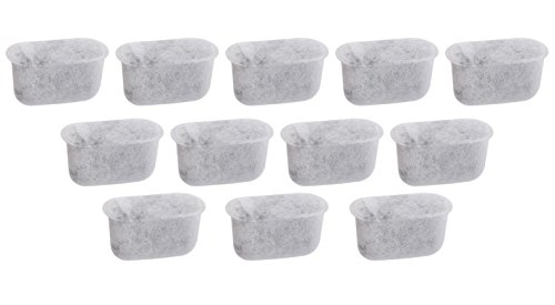 12 Pcs Charcoal Water filters Replacement For Cuisinart Coffee Part DCC-RWF (True Refrigerator Residential compare prices)
