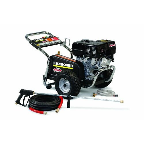 Image of Shark: Belt Drive, Cold Water, Gas Powered, Pressure Washer-3.7GPM-350