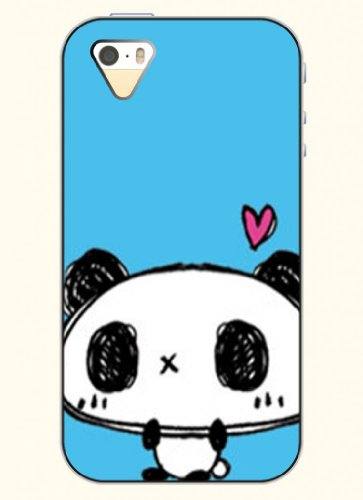 Oofit Phone Case Design With Lovely Baby Panda For Apple Iphone 4 4S 4G