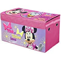 Disney Minnie Mouse Oversized Soft Collapsible Storage Toy Trunk