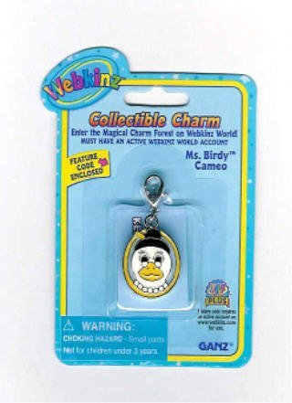 Webkinz Collectible Charm - MS BIRDY CAMEO