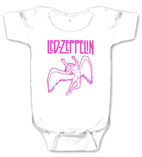 Led Zeppelin Pink Design Baby (3-6 Months)