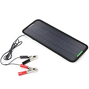 Cheap ALLPOWERS™ New 12V 5W Portable Solar Car Boat Power Solar Panel Battery Charger Maintainer for Automobile Motorcycle Tractor Boat Batteries
