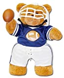 "Football Bear 18"" Jointed Sports Bear"