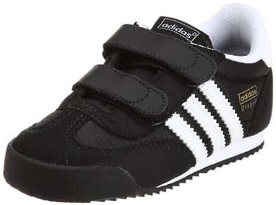 adidas Originals Dragon Cmf I, Chaussures lifestyle baskets mode mixte enfant - Noir1/Blanc/Noir1, 25 EU