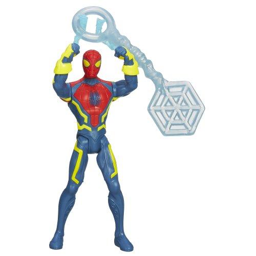 Marvel Ultimate Spider-Man Slingshot Blast Spider-Man Figure - 1