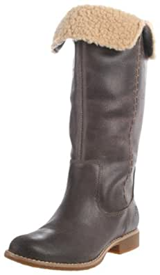 Timberland Women's 25670 Shoreham Knee-High Boot,Dark Brown Suede,5.5 W US