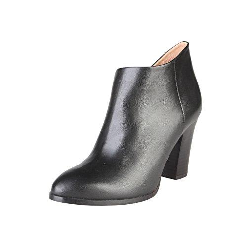 V 1969 - Candice - Stivaletti alla caviglia con tacco - Donna (39) (Nero)