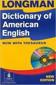 DICTIONARY LONGMAN AMERICAN OF ENGLISH