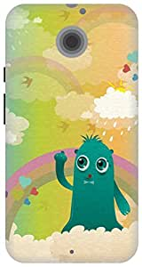 The Racoon Grip printed designer hard back mobile phone case cover for Moto X 2nd Gen. (In the Clo)