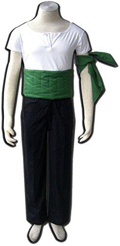 [Koveinc One Piece Anime Cosplay Costume-Roronoa Zoro-Male-Medium] (Roronoa Zoro Costumes)