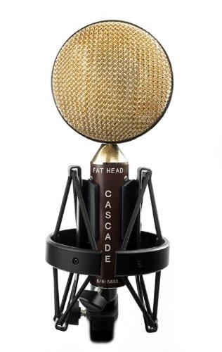 Cascade Microphones Fat Head (Cinemag) - Brown/Gold