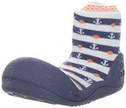 Attipas Big Toe Box Toddler Shoe *MARINE* Navy Large