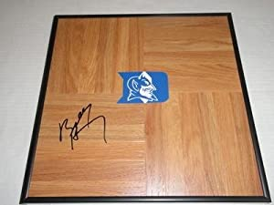 Buy Bobby Hurley Signed Framed 12x12 Floorboard Duke Blue Devils - Autographed College Floorboards by Sports Memorabilia