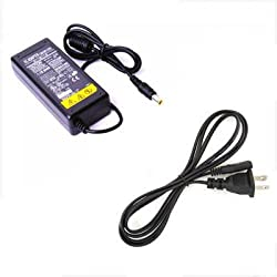 Imported 16V 3.75A Replacement AC Adapter with US Power Cord for Fujitsu Laptop (6.5*4.4mm+Pin)