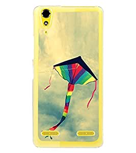 Colourful Kite 2D Hard Polycarbonate Designer Back Case Cover for Lenovo A6000 Plus :: Lenovo A6000+ :: Lenovo A6000
