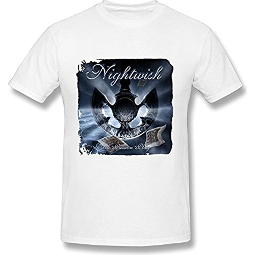 Fly&Tian Men's Dark Passion Play Nightwish T-Shirts