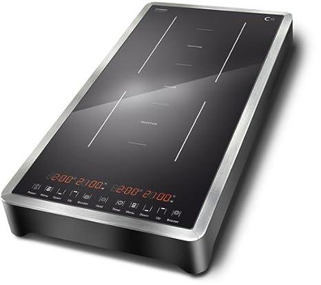 caso c32 doppel induktionskochfeld 3200 watt mit booster. Black Bedroom Furniture Sets. Home Design Ideas