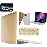 """IFyx Matte Rubberized Hard Protective Shell Case Cover Skin For Apple Macbook Air 13 Inch 13.3"""" & Keyguard & Free..."""