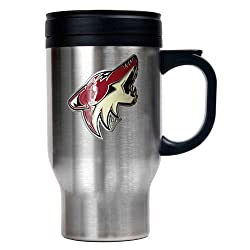 Phoenix Coyotes NHL Stainless Steel Travel Mug - Primary Logo