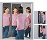 Triple View Mirror - Full Length - Over the Door - 4 Panel Mirror