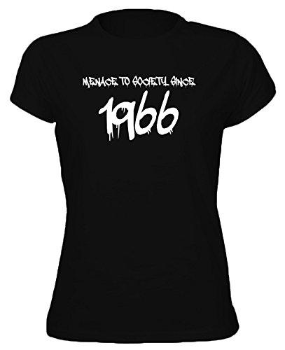 GRAFFITI MENACE TO SOCIETY SINCE YEAR 1966 - 50th Birthday Gift / Present Womens T-Shirt