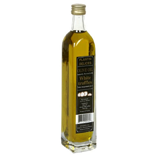 Plantin White Truffle Infused Olive Oil, 3.5-Ounce Bottle by 