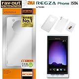 レイアウト REGZA Phone au by KDDI IS04用ソフトジャケット/クリア RT-IS04C5/C