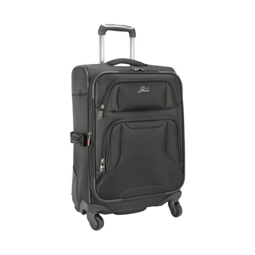 Skyway Proline Vertical Carry-On Lage With Twist Plus Four Wheel System, Black, One Size